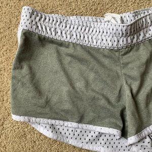 Nike Shorts - Nike Dri-Fit Training Shorts Dry White/Gray M
